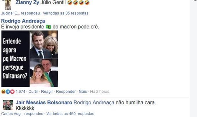 Entenda presidente francês lamentando governo Bolsonaro